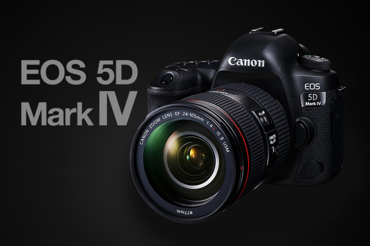 New Canon eos 5D mark IV